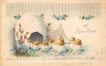 top090793 - Holiday Easter Post Card Old Vintage Antique