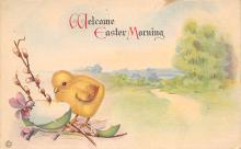 top091001 - Holiday Easter Post Card Old Vintage Antique
