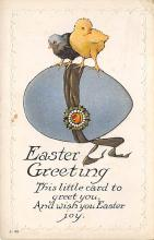 top091005 - Holiday Easter Post Card Old Vintage Antique