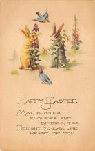 top091037 - Holiday Easter Post Card Old Vintage Antique