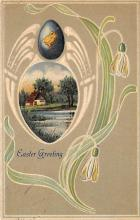 top091057 - Holiday Easter Post Card Old Vintage Antique