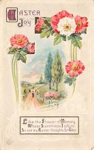 top091087 - Holiday Easter Post Card Old Vintage Antique