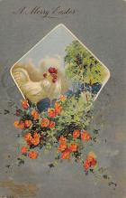top091095 - Holiday Easter Post Card Old Vintage Antique