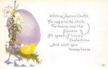 top091143 - Holiday Easter Post Card Old Vintage Antique