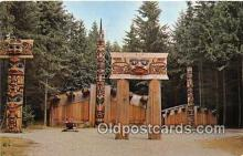tot001034 - Haida Indian Village BC, Vancouver, Canada Postcard Post Card