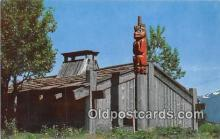 tot001035 - Chief Shakes House, Water Grizzley Wrangell, Alaska Postcard Post Card