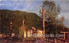 tot001037 - Shakes Island Wrangell, Alaska Postcard Post Card