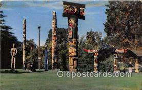tot001053 - Thunderbird Park Victoria, BC, Canada Postcard Post Card