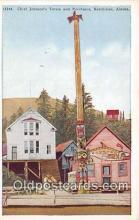 tot001072 - Chief Johnson's Totem & Residence Ketchikan, Alaska Postcard Post Card