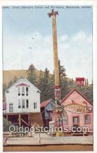 tot001074 - Chief Johnson's Totem & Residence Ketchikan, Alaska Postcard Post Card