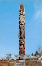tot001078 - Kicksetti Totem Pole Wrangell, Alaska Postcard Post Card