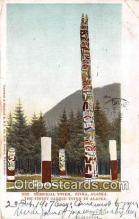 tot001089 - Memorial Totem Sitka, Alaska Postcard Post Card