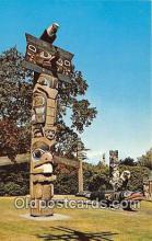 tot001091 - Thunderbird Park Victoria, BC, Canada Postcard Post Card