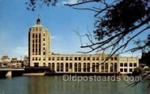tow001041 - News Tower, Rockford, Illinois USA, Radio Station WROK Tower, Towers, Postcard Postcards