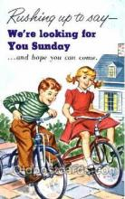 tra000015 - Bicycle, Cycle, Cycling, Postcard Postcards