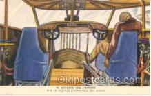 tra001019 - Byrrh Advertising on back, Early Air,  Airplane Postcard Postcards