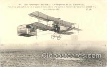 tra001050 - Early Air,  Airplane Postcard Postcards