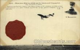 tra001083 - Monoplan Bleriot Lieutenant Acquaviva