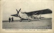 tra001106 - Early Air Postcard