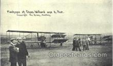 tra001140 - Chas Willard and A. Post Aviation, Airplane Postcard Postcards