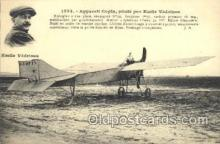 tra001153 - Emile Vedrines Early Air Airplane Postcard Postcards