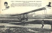 tra001154 - M. Legagneux Early Air Airplane Postcard Postcards