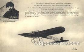tra001163 - Enseigne de Vaisseau Early Air Airplane Postcard Postcards