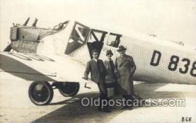 tra001185 - Luft Hansa Early Air Airplane Postcard Postcards
