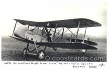 tra001233 - Biplane, Pusher Type, C 1916 Aviation, Airplane Postcard Postcards