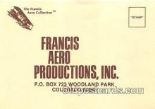 Francis Aero Productions, Inc