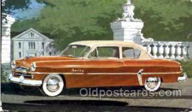 tra002015 - Plymouth 54' auto postcard