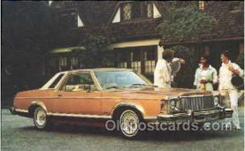 tra002016 - Monarch Ghia 77' auto postcard