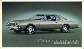 tra002027 - Impala Sport Coupe auto postcard