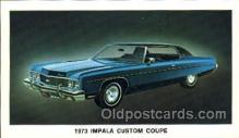 tra002038 - Impala Coupe 73' automotive postcards