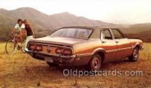 tra002046 - Mercury Comet 73' automotive postcards