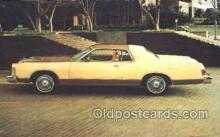 tra002061 - Marquis Brougham 77' automotive postcards