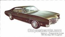 tra002075 - Mercury Montego 70' automotive postcard