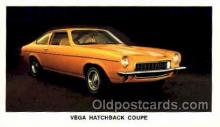 tra002088 - Vega Hatchback Coupe automotive postcard