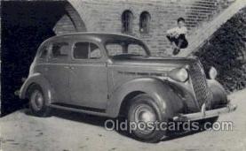 tra002102 - Plymouth 37' automotive postcard