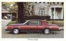 tra002136 - 1978 Buick Regal Automotive Old Vintage Antique Postcard Post Cards