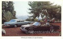 tra002137 - 1978 Buick LeSabre Coupe and Sedan Automotive Old Vintage Antique Postcard Post Cards