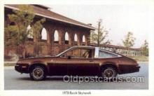 tra002138 - 1978 Buick Skyhawk Automotive Old Vintage Antique Postcard Post Cards