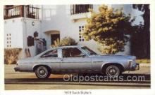 tra002139 - 1978 Buick Skylark Automotive Old Vintage Antique Postcard Post Cards