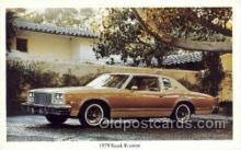 tra002141 - 1978 Buick Riviera Automotive Old Vintage Antique Postcard Post Cards