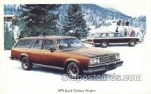 tra002143 - 1978 Buick Century Wagon Automotive Old Vintage Antique Postcard Post Cards