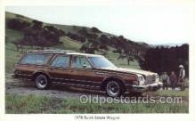 tra002145 - 1978 Buick Estate Wagon Automotive Old Vintage Antique Postcard Post Cards