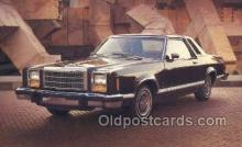 tra002158 - 1979 Granada Ghia 2 door Sedan Automotive Old Vintage Antique Postcard Post Cards