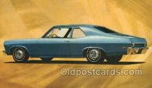 tra002173 - Chevy II Nova Coupe Automotive Old Vintage Antique Postcard Post Cards
