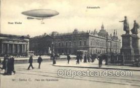 tra004083 - Berlin C.  Zeppelin, Zeppelins Postcard Postcards