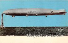 tra004127 - First USA Helium Airship, 1923 Zeppelin USS Shenandoah ZR-1 Postcard Post Card
